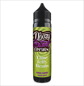 Doozy Vape Co - Sweet Treats 50ml E-Liquid - Lime Jelly Beans