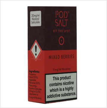 Mixed Berry by Pod Salt E-Liquid
