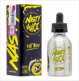 Fat Boy 60ml Shortfill E-Liquid by Nasty Juice