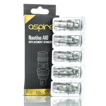 Aspire Nautilus AIO Replacement Coils 1.8ohm 5/pack
