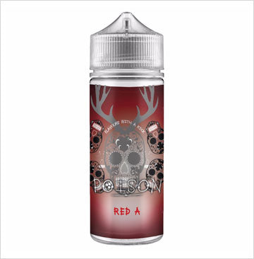 RED A 80ML E-LIQUID BY POISON