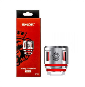 SMOK V8 Baby-T12 Light Coil Red Light (5/pack 0.15ohm)