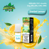 Lemon Sherbet 10ml E-Liquid by Amazonia