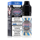 Smooth Tobacco 10ml 20mg Nicotine Salt E-Liquid by Dinner Lady