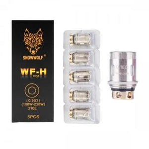 Snowwolf WF-H 0.16 ohm 5/pack Replacement Coils