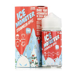 Strawmelon Apple 100ml Shortfill E-Liquid by Ice Monster (Jam Monster)