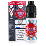 Sweet Fruits 10ml 20mg Nicotine Salt E-Liquid by Dinner Lady