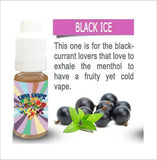 Black Ice 10ml E-Liquid by UFA Vape