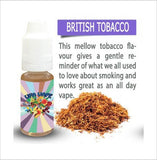 British Tobacco 10ml E-Liquid by UFA Vape