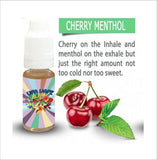 Cherry Menthol 10ml E-Liquid by UFA Vape