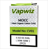 Vapwiz Pollux 25 / 22 Mini Coils Pack of 2
