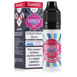 Watermelon Slices 10ml 20mg Nicotine Salt E-Liquid by Dinner Lady