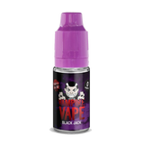 Black Jack 10ml E Liquid by Vampire Vape