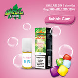 Bubblegum 10ml E-Liquid by Amazonia