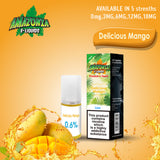 Delicious Mango 10ml E-Liquid by Amazonia (Pack of 10)