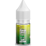 Lime Lemonade 10ml 20mg Nicotine Salt E-Liquid by Pukka Juice