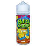 Lemon Cake 100ml Shortfill E-Liquid from Big Drip by Doozy Vape Co.