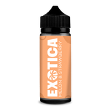 Melon & Strawberry 100ml Shortfill E Liquid BY Exotica