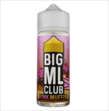 Dinner Lady Pink Muffin by Big ML Club 100ml 0mg