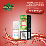 Amazonia Red Energy 10ml Eliquid (Pack of 10)