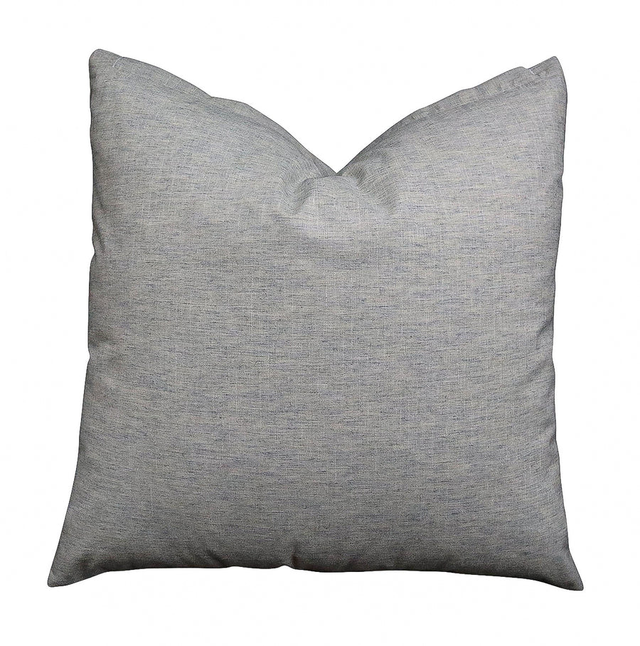 Cotton/ linen Pillow Cover - Azure