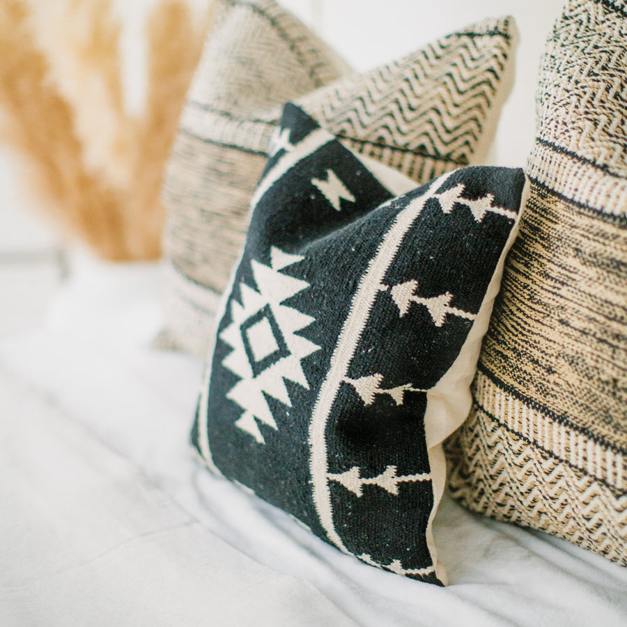Cotton Canvas Pillow Cover - Anahuac
