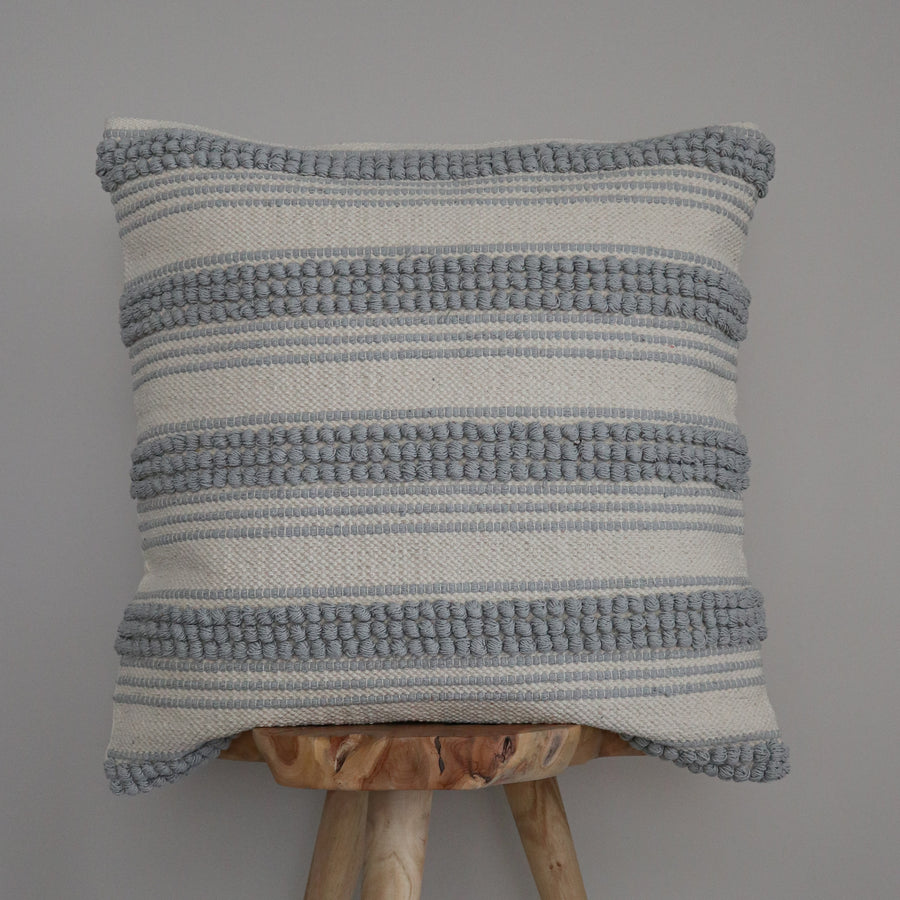 Cotton_Canvas_Euro_Cushion_Cover_Grey_Ripple_Whole