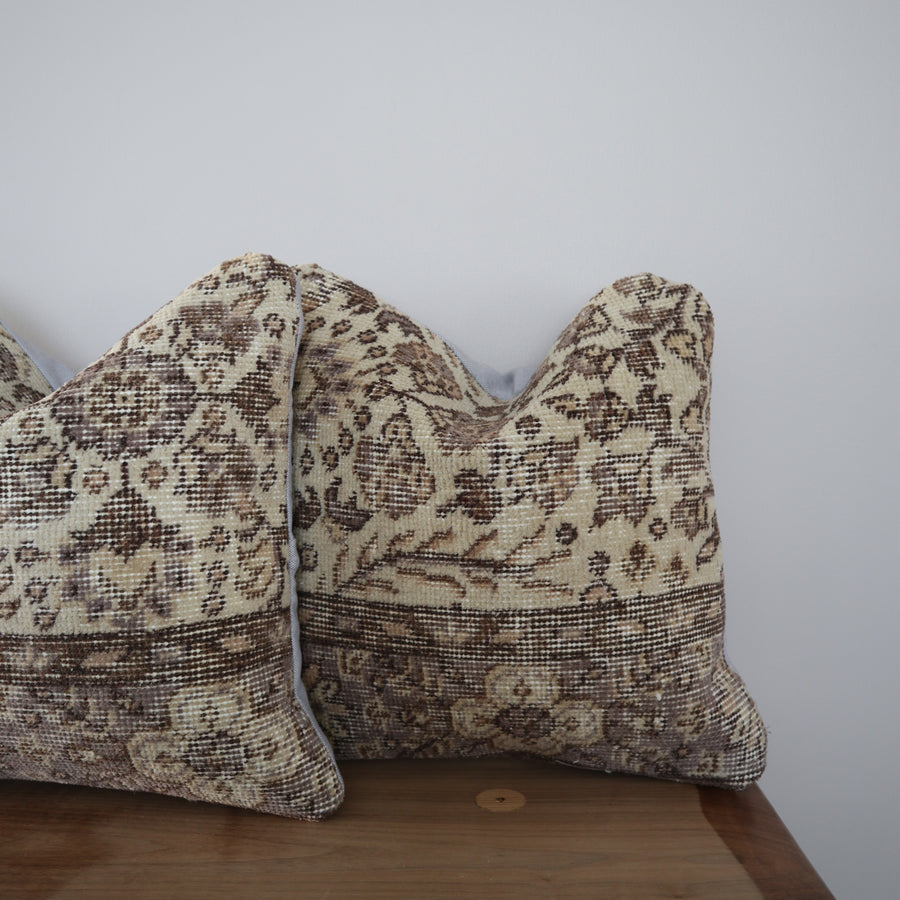 Turkish Rug Pillow Covers - Collection of 2 x 16