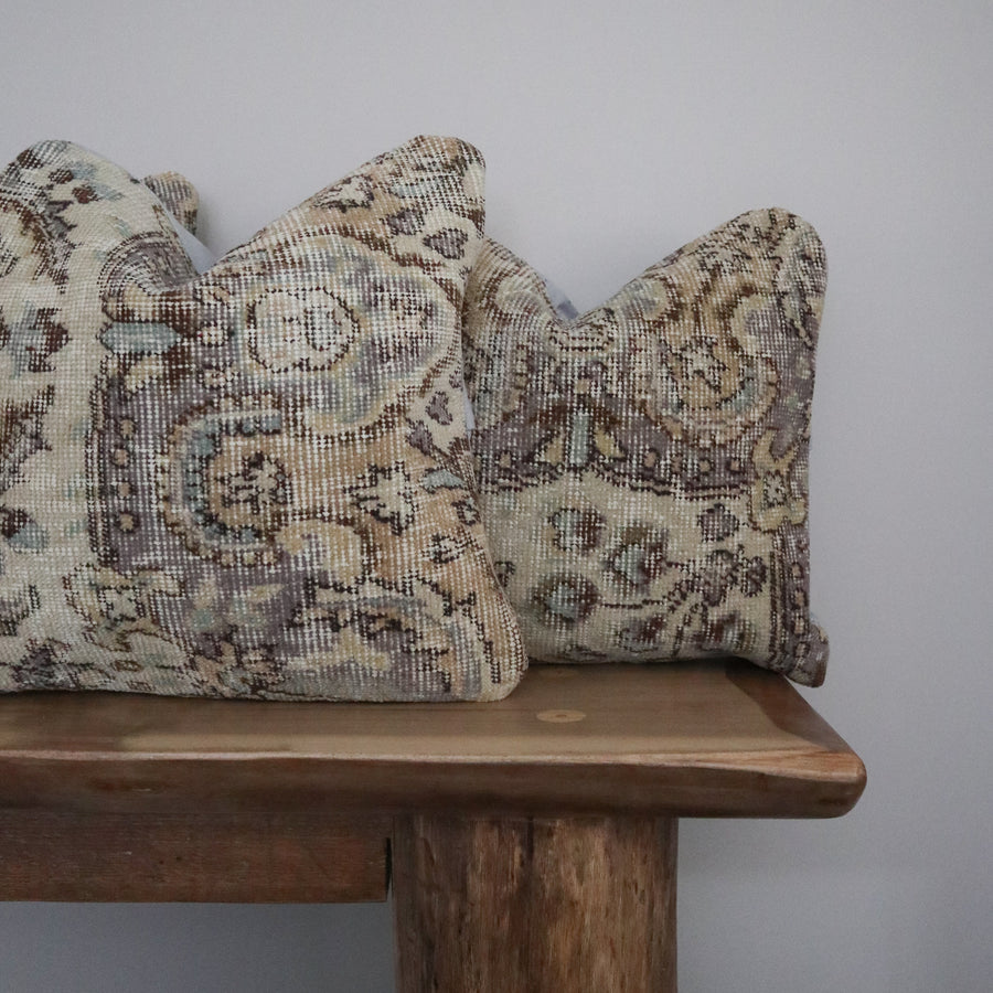 Turkish Rug Pillow Covers - Collection of 3 x 18