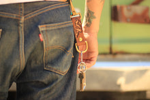 Load image into Gallery viewer, Graphic Leather Keychain