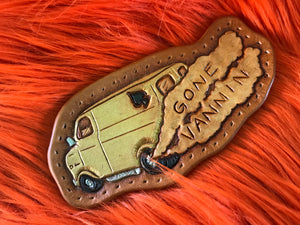 Gone Vannin Leather Patch