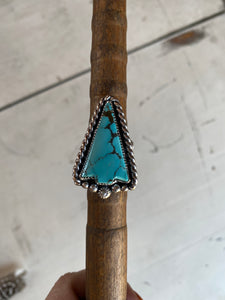 No. 8 Turquoise Arrow Rings