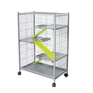 "493G (Ferret Cage. 4 level. 25x17x42""H.) 1/2"" Spacing."