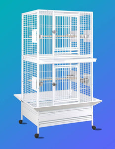 "13628wh (Double Stack 36""x28"" cage white)"