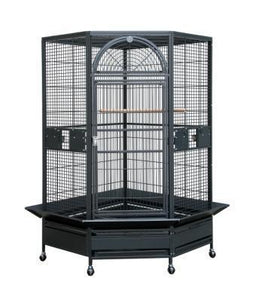 14022wh (Large 44x42 Corner Cage-White)