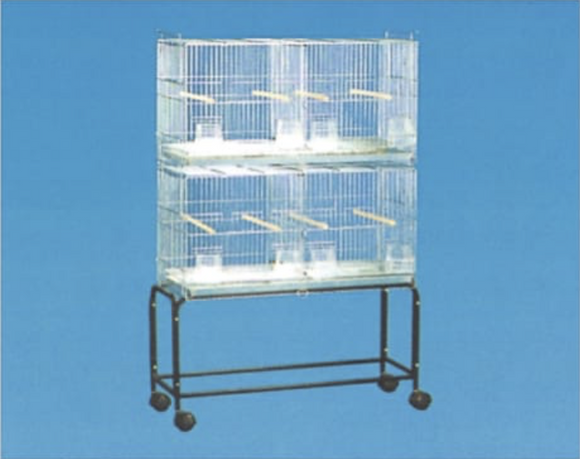 2411 (Stackable Breeder Cage-26.5x10.5x15. Galvanized. 4 per box.)