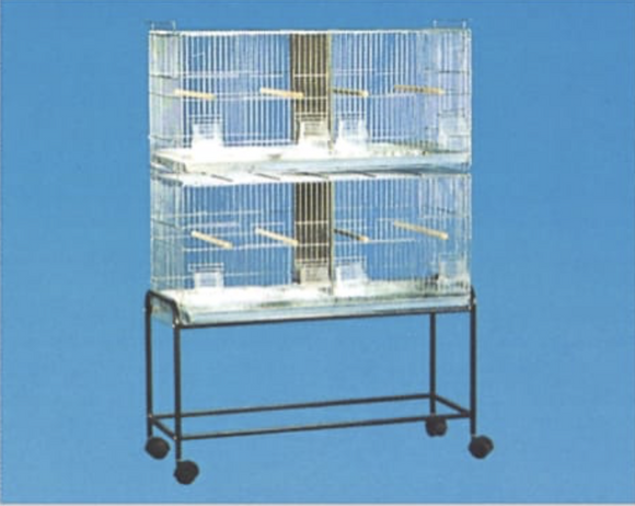2421 (Stackable Breeder Cage-30x11x15. Galvanized. 4 per box.)