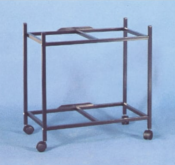 4124BLK (24X16 2-SHELF STAND)