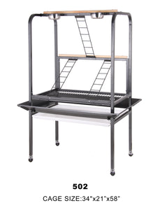 502bk (Steel Powder Coated Play Stand-Black)