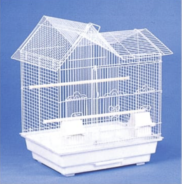 5854 (18x14x22H House (711) Top.  White. 4 per box.)