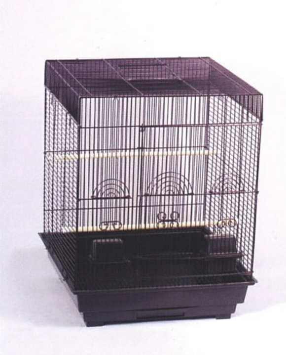 5924WH (18x18 Square Cage (448S). White. 4 per Box)
