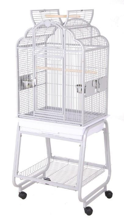 92217Cwh (Victorian Top 22x17 with Cart Stand-White)