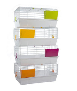 "930B (Rabbit Cage-31x18x14""H. White. 4 per box.)"