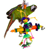 "PB11119 (Bird Toy, Large Colored Blocks   Size: 16"" x 10"". 12 PER CASE)"