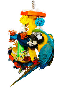 "PB11196A (Bird Toy. Size: 28""H*12""W. 4 PER CASE.)"