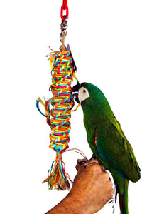 "PB17061 (Bird Toy, Natural Pacifer.  MD Size:  40.6cmH(16"")*4.5cmDia(1.8"") 36 PER..."