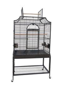 "73823bk (Flat Top Cage. 38x23x69""H. 1/2"" spacing. 3mm bar thickness. Black.)"
