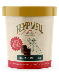 Hemp Relief Dog Chews (Hemp Relief Dog Chews. 60ct.)