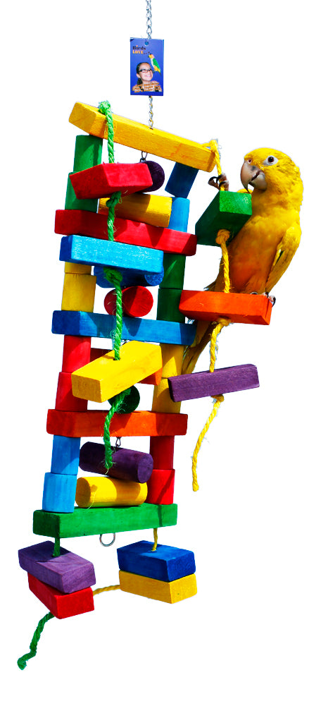 LLT-0253 (Large Ladder hang toy. 32x8