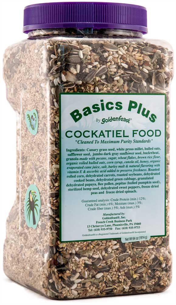 Basic Plus Cockatiel Food-64oz. (Basic Plus Cockatiel Food-64oz.)